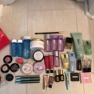 Other - Brand new lot of 37 cosmetics & 2 Lancôme bags